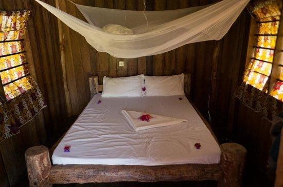 Demani Lodge: top floor bungalow