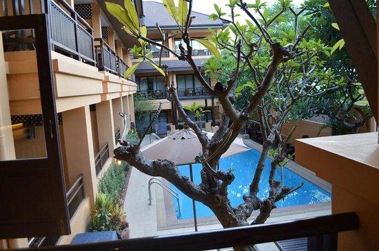 La Maison Hua Hin: View from breakfast area