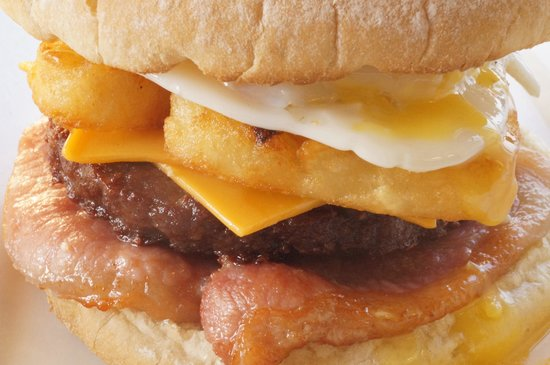 Hillingdon, UK: Breakfast Burger