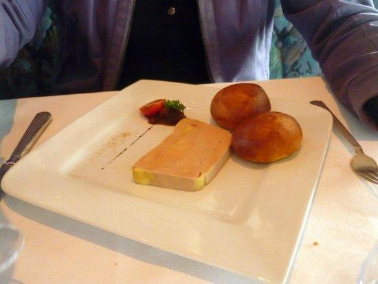 Aquar'Aile : Du foie gras en entrée