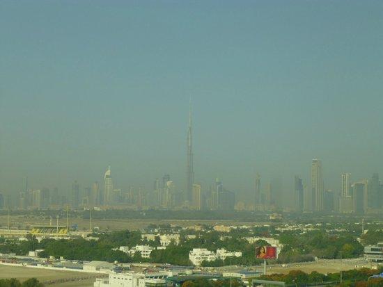 Grand Hyatt Dubai: View from our hotel room