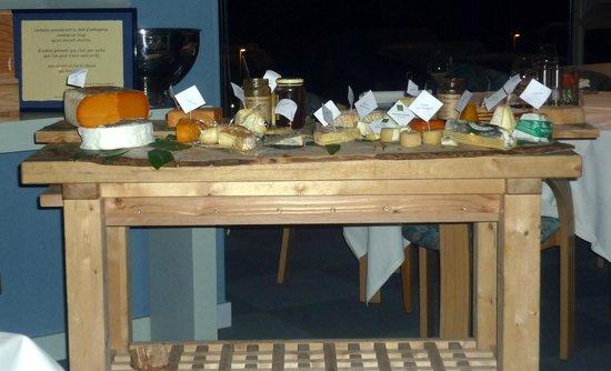 Aquar'Aile : Le plateau de fromage