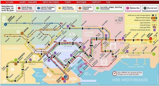 Бенидорм схема движения автобусов