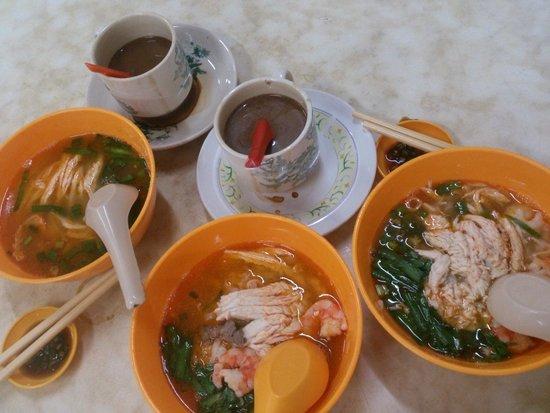 Thean Chun: our scrumptious breakfast, tasty :D