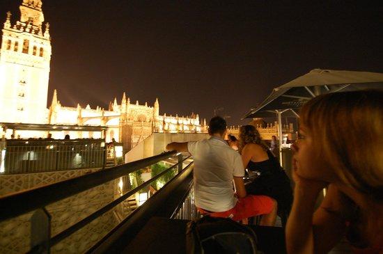 Plaza del Triunfo : Бар на Крыше