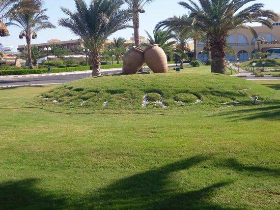 Desert Rose Resort : Indgangen til hotellet