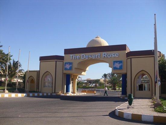 Desert Rose Resort : Indgangen