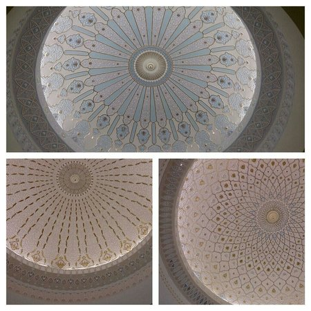 Musée des arts islamiques : Mini pics of the stunning domed ceilings.
