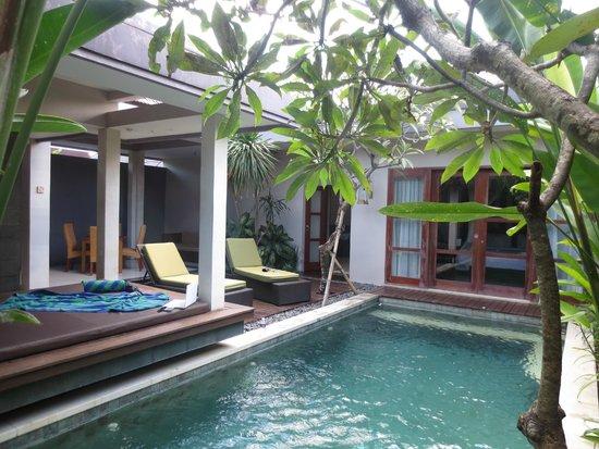 Aria Exclusive Villas and Spa : View of the villa