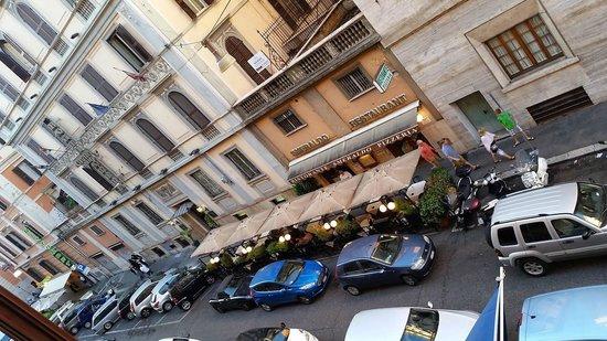 Hotel Genova: Vista do Apartamento