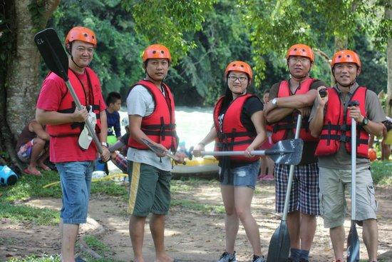 Kiulu River : Group Photos