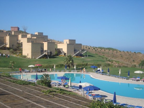 Menfi Beach Resort : vue de la terrasse