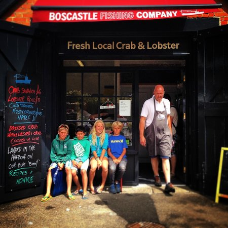 Boscastle Fishing Company: The place...