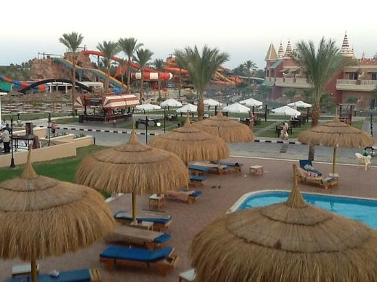 Aqua Blu Sharm: our view from room