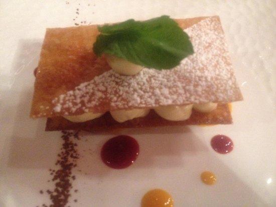 Restaurant l'Absinthe Cafe : Feuille a feuille