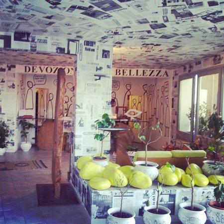 Hotel-Museum Atelier sul Mare: Atelier sul mare reception