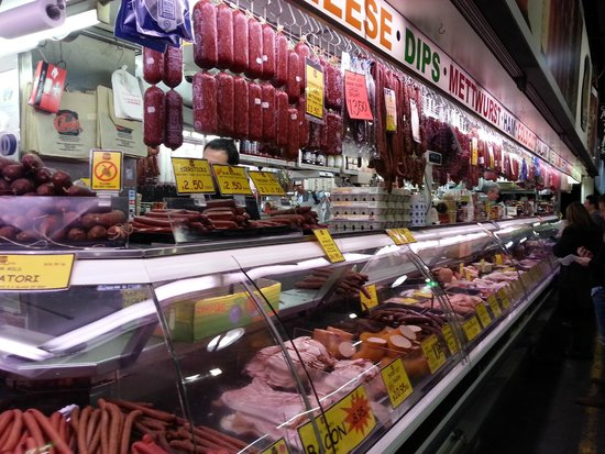 Adelaide Central Market: Some exotic meats up for sale.