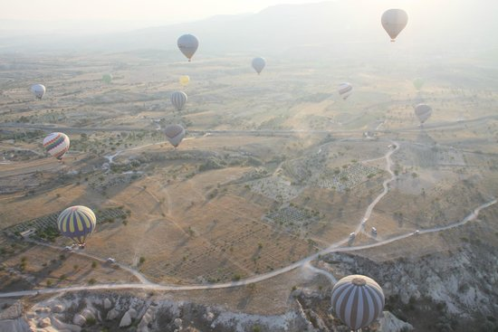 Turkiye Balloons: View from our Balloon