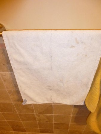 Jinetes de Osa Hotel: Another dirty towel