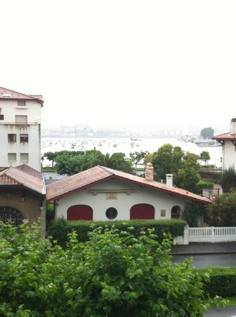 Hotel Bellevue Hendaye : Vue depuis le balcon