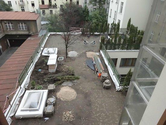 Prague Centre Superior: Garden / Building Site...