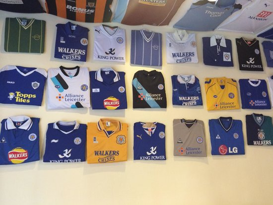 The Foxes Arms: Shirts for all Leicester fans everywhere