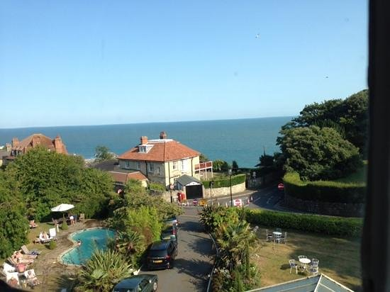 The Royal Hotel: Wonderful View from Room 22