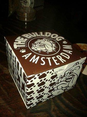 The Bulldog Amsterdam: Spacecake box