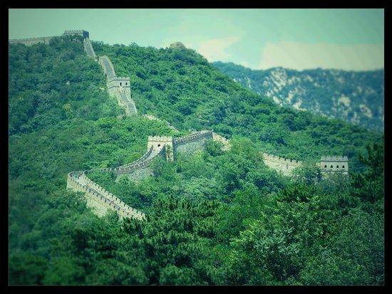 Gran Muralla China en Mutianyu: Great wall july 2014