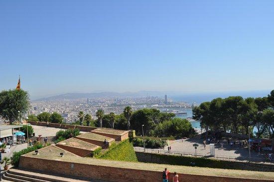 Parc de Montjuic : Barcelone depuis Montjuic
