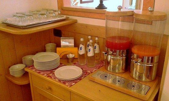 Garni Sant'Antonio: colazione