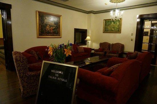 Palais Royale Boutique Hotel: lounge area