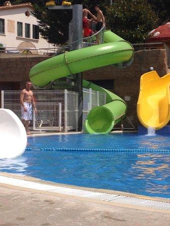 Rosamar Garden Resort: Toboggan