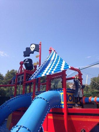 Rosamar Garden Resort: Bateau enfant