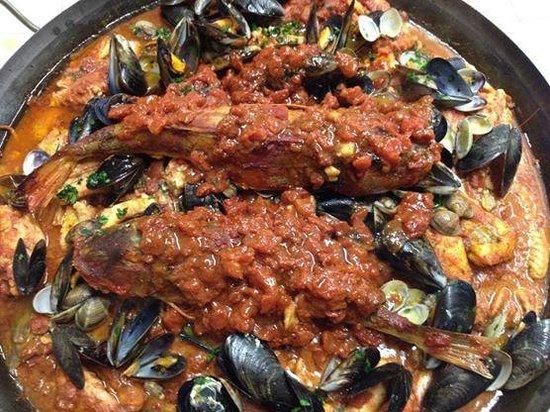 Osteria Antica Pieve : zuppa di pesce