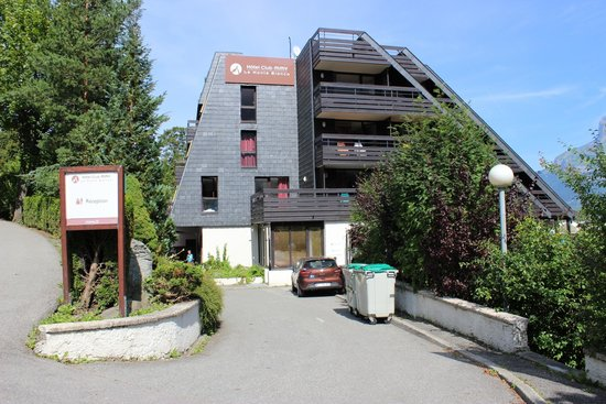 Hotel Club mmv Saint-Gervais Le Monte Bianco: L'entrée de l'hôtel Monte Bianco