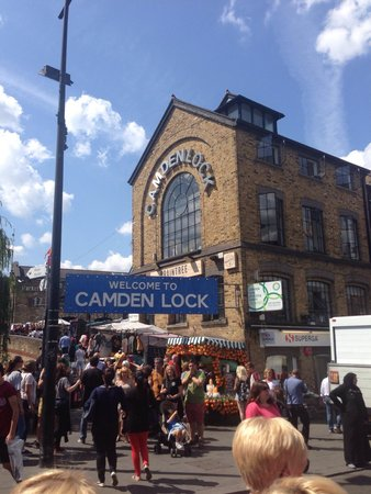 Camden Market : The streets are alive