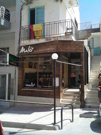 Malet Restaurant: Triq San Xmun - Bugibba