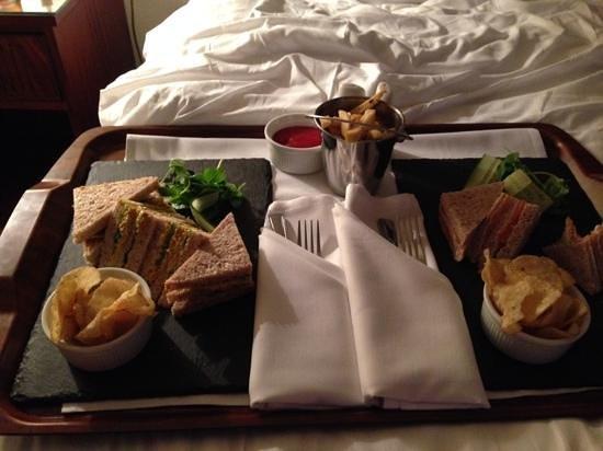Hallmark Hotel Bournemouth Carlton : Yummy Room Service