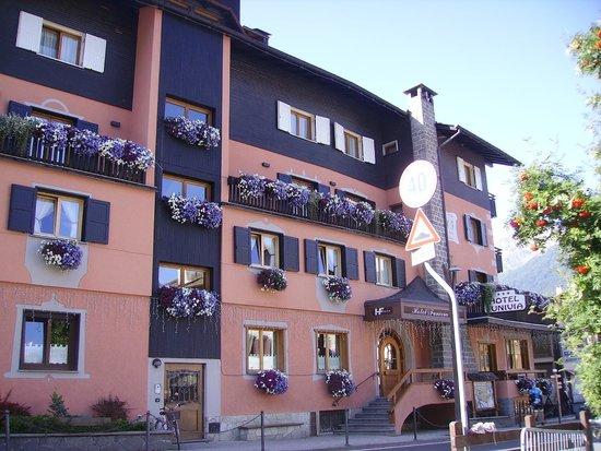 Hotel Funivia : devant de l'hôtel