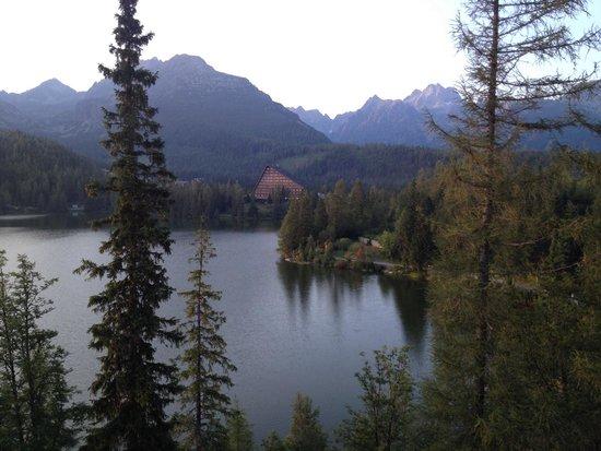Grand Hotel Kempinski High Tatras: Lake view room