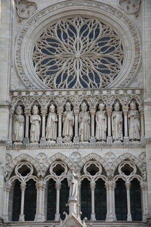 Cathédrale Notre-Dame d'Amiens : Détail façade