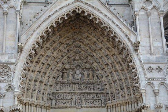 Cathédrale Notre-Dame d'Amiens : Tympan