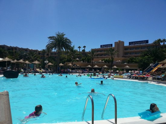 Occidental Lanzarote Mar: Sat on a sun lounger
