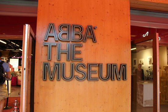 ABBA The Museum: Signage
