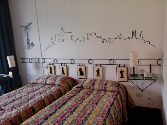 Hotel Gio' Wine e Jazz Area: Camera