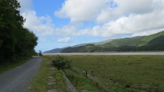 The Mawddach Trail: view from trail