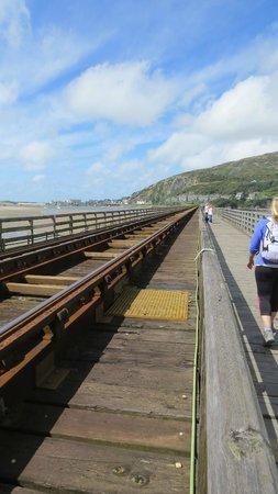 The Mawddach Trail: Toll crossing by Barmouth