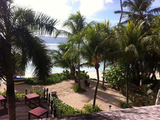 DoubleTree by Hilton Seychelles Allamanda Resort & Spa: View from terrace