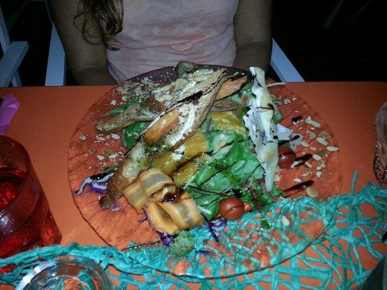 Le Pré Vert : salade repas la marguerite